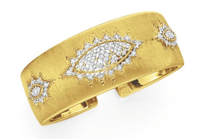 Fashion*Jewellery*Antique  | Rosamaria G Frangini || A DIAMOND AND GOLD CUFF BRACELET, BY BUCCELLATI