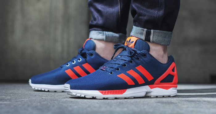 Adidas Zx Flux Black Orange