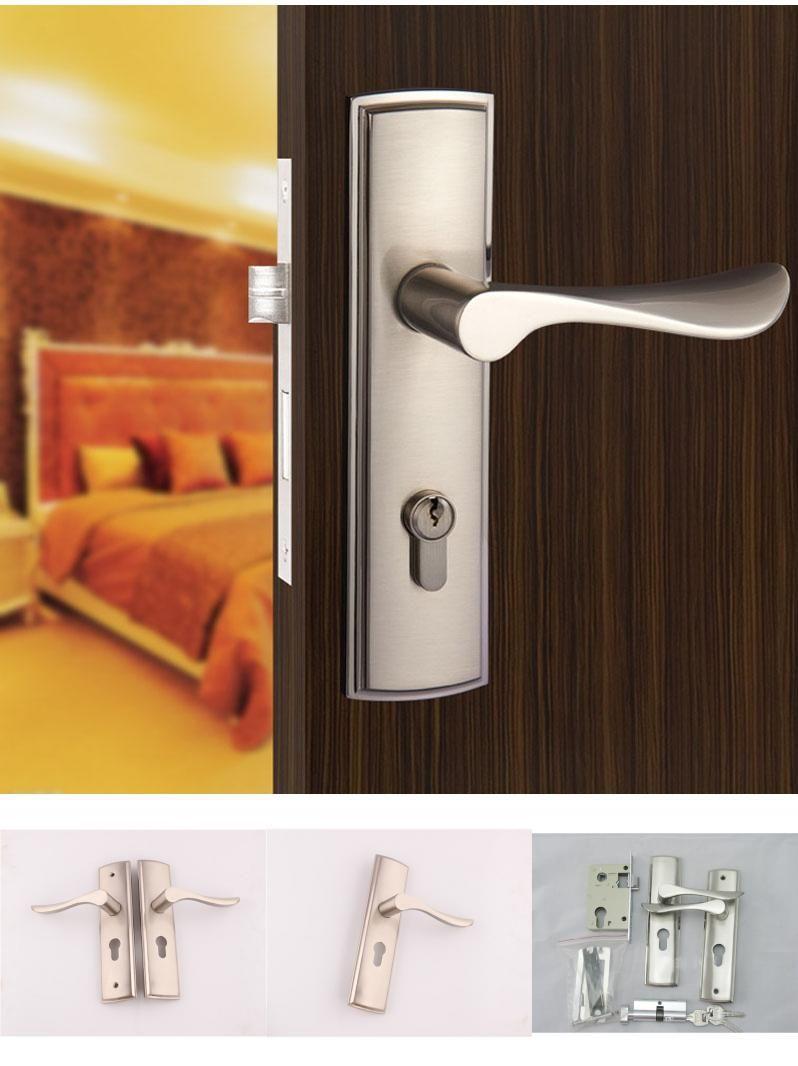 Visit To Buy New Aluminum Material Interior Door Lock Living Room