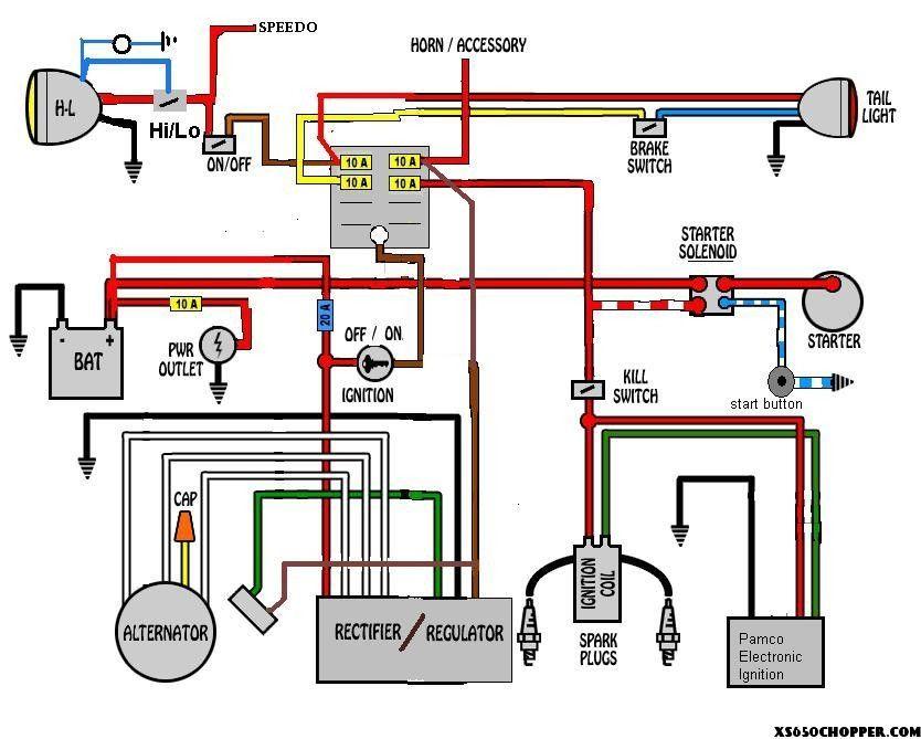 switch back harley davidson headlight wiring diagram