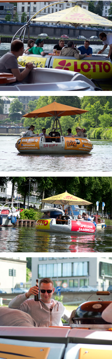 Fun things to do near the KMC!! BBQ on the water!! SO FUNKTIONIERT\'S ...
