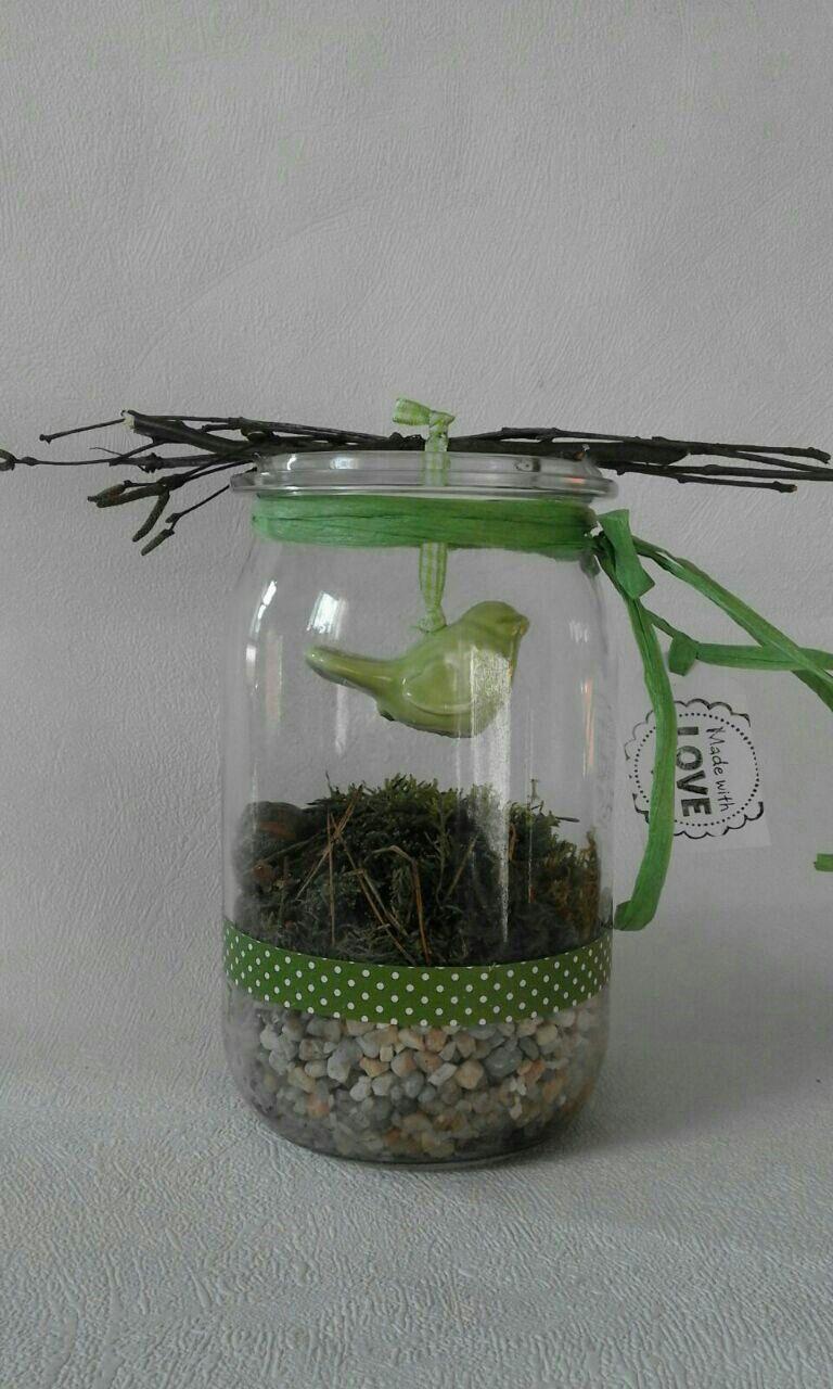 Fr hling im glas geschenkideen for Herbst dekoration im glas