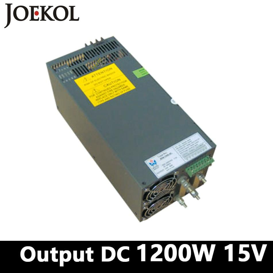 High Power Switching Power Supply 1200w 15v 80a Single Output Ac Dc Power Supply Us 170 10 Higher Power Power Supply Electrical Equipment