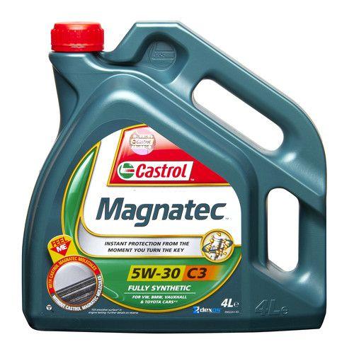 Engine Oil Castrol Magnatec 5w30 C3 Gm Dexos2 Spec Fully Synthetic 4l 4 Litres Oils Car Maintenance Engineering