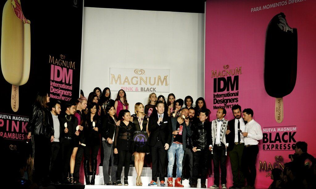 #MagnumIDM Desfile #Diseñadores