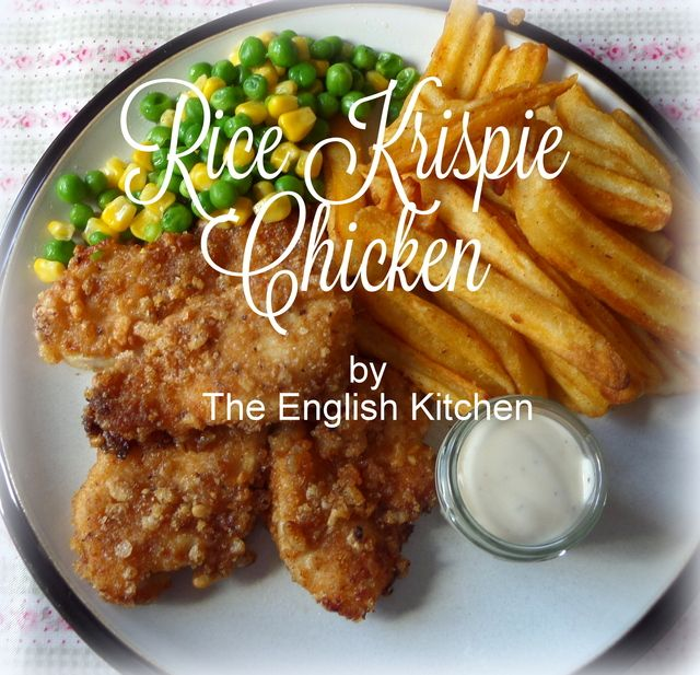 Rice Krispie Chickenfrom The English Kitchen Rice Krispie Bars Rice Krispies Chicken