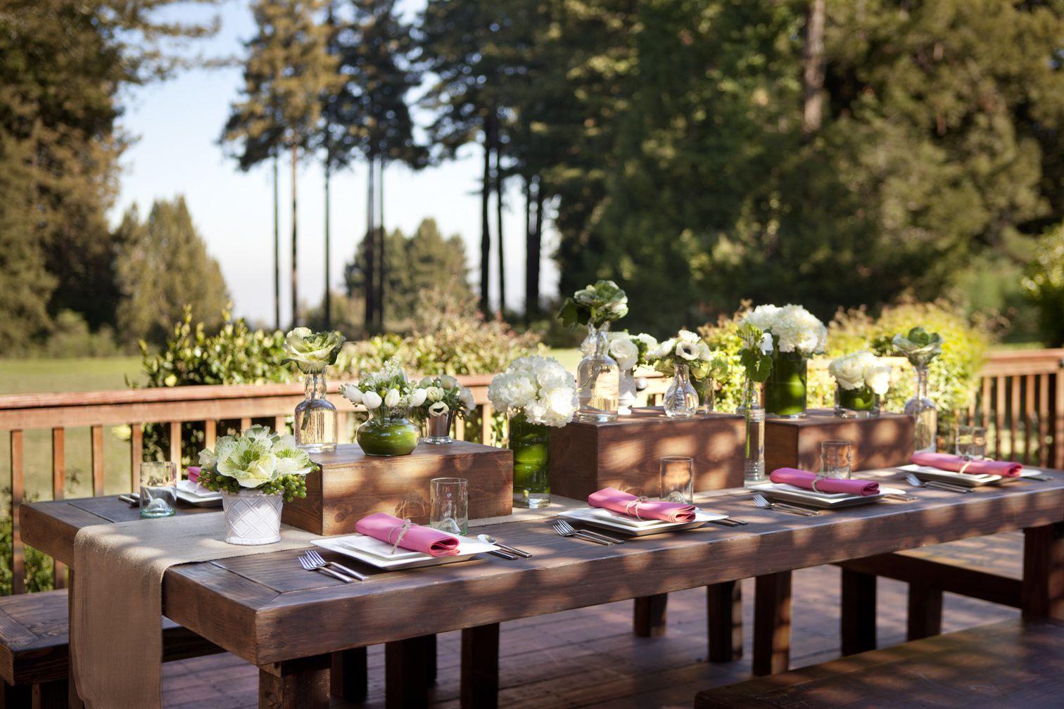 The Mountain Terrace Woodside, CA l Best Tablescape