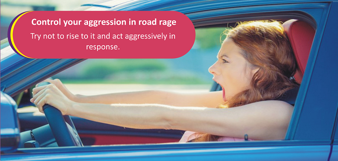 If you're being persistently harassed by the same aggressive driver, you may want to make your way to a safe, public place and call the police. #sommerdekk