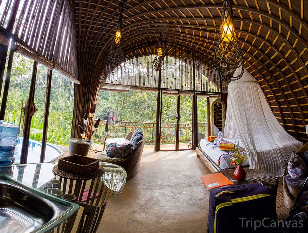 15 Rainforest Hotels In Bali Tucked Away In Lush Paradise Traditional Bedroom Design Indonesian House Bali