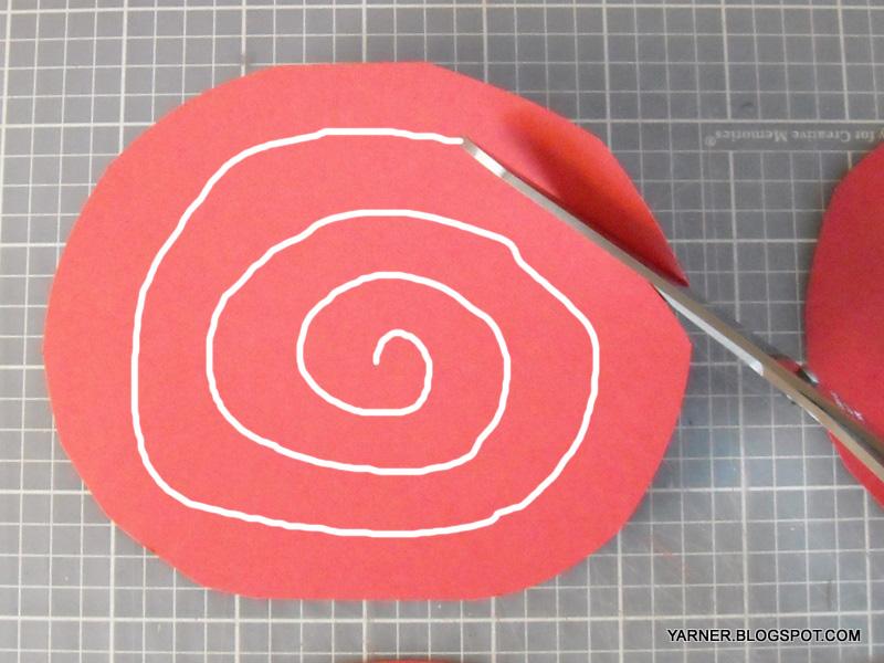розочки из цветной бумаги с помощью зубочистки сдать