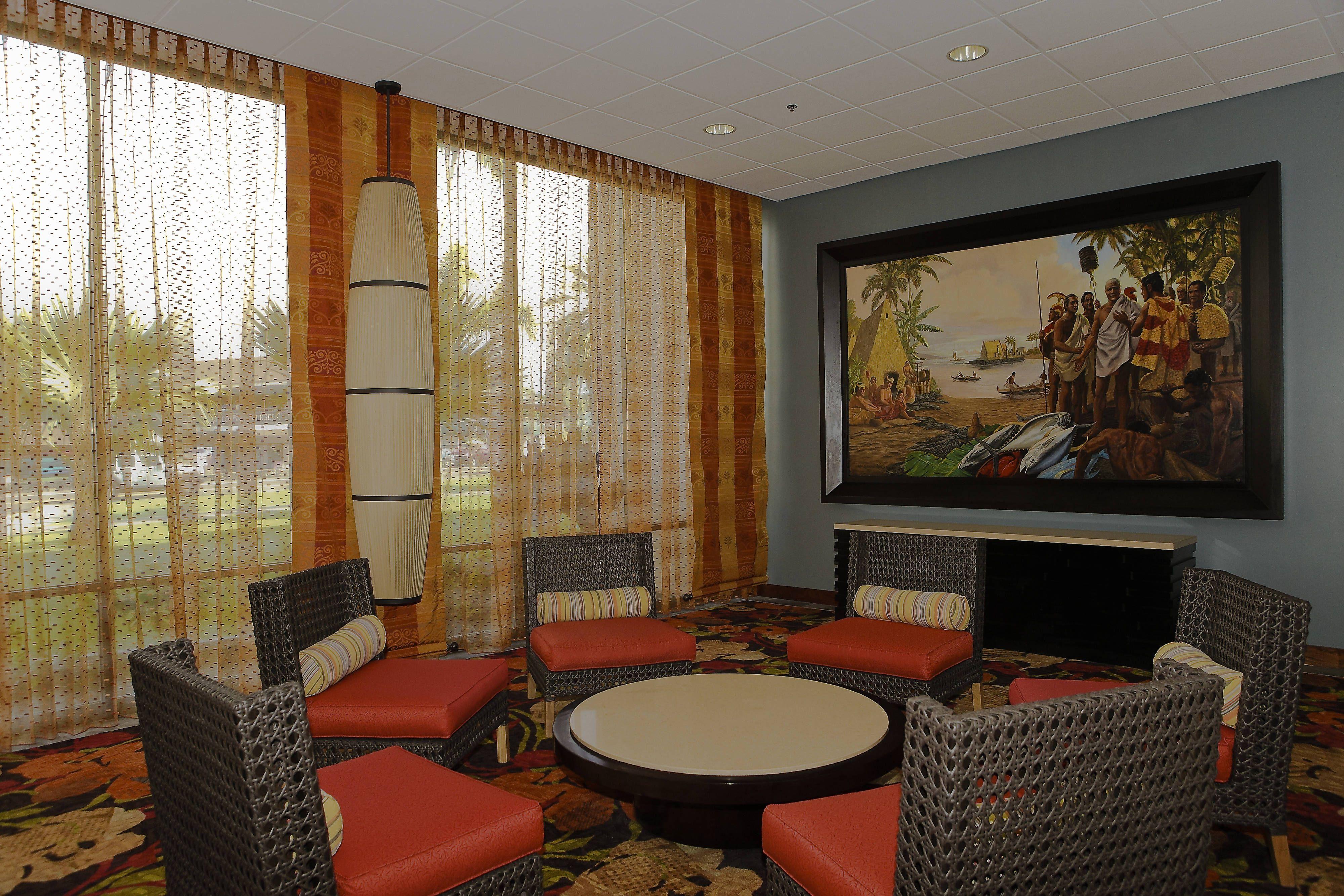 Courtyard King Kamehameha's Kona Beach Hotel Lobby Sitting