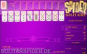Kartenspiel Spider