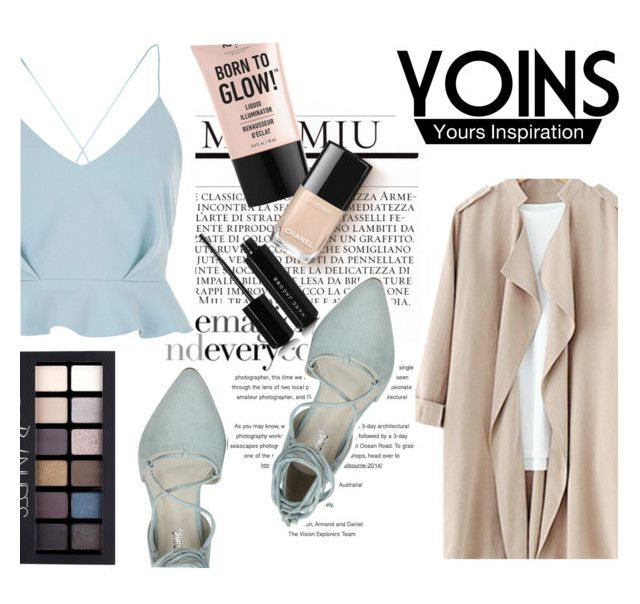 """""""Yoins#13"""" by elen-015 ❤ liked on Polyvore featuring River Island, Marc Jacobs, NYX and Maybelline"""