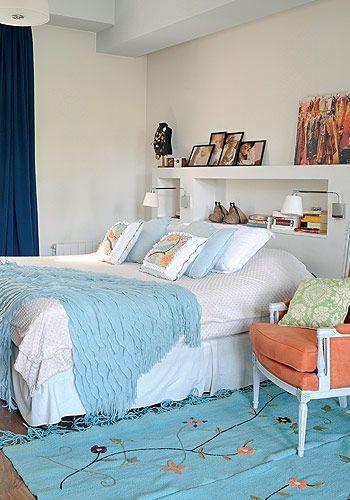 La otra cara del cuarto principal muestra a la cama de dos for Sillon cama de una plaza y media
