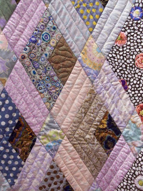 Kaffe Fassett quilt 101_0209 by claire@paintdropskeepfalling.wordpress.com, via Flickr