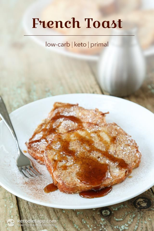 Healthy Keto French Toast | Recipe | Fun in the kitchen! | Low carb breakfast, Lowest carb bread ...