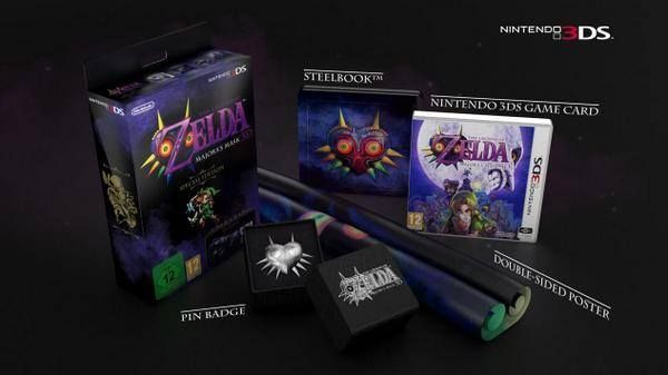 Special Edition of Majora's Mask 3D Announced in European Livestream -- This needs to come to America.