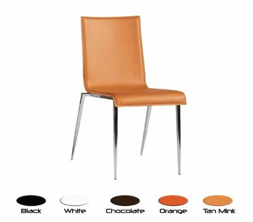 Tobago Stacking Chair Brown Chrome: Bellini Modern Juno Stacking Dining Chair By Bellini