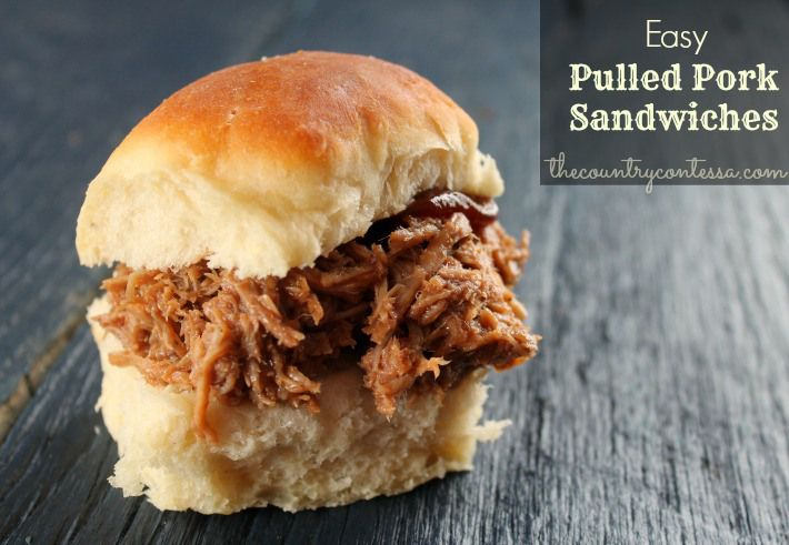 Easy Pulled Pork Barbecue