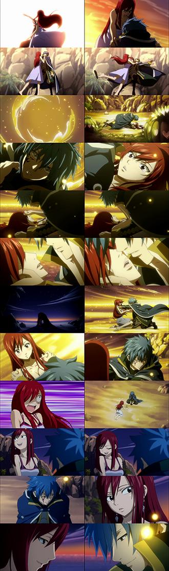 Fairy Tail   Ame  esta parte tanto anime como manga pero joder queria que se dieran el puto beso