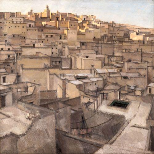Bernard Boutet de Monvel (1881-1949), Fez, Seven O'clock, about 1924, oil on canvas