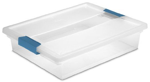 large shallow storage containers - Perfect for putting under low p-trap to drain pipes when kitchen sink is clogged.  sc 1 st  Pinterest & large shallow storage containers - Perfect for putting under low p ...