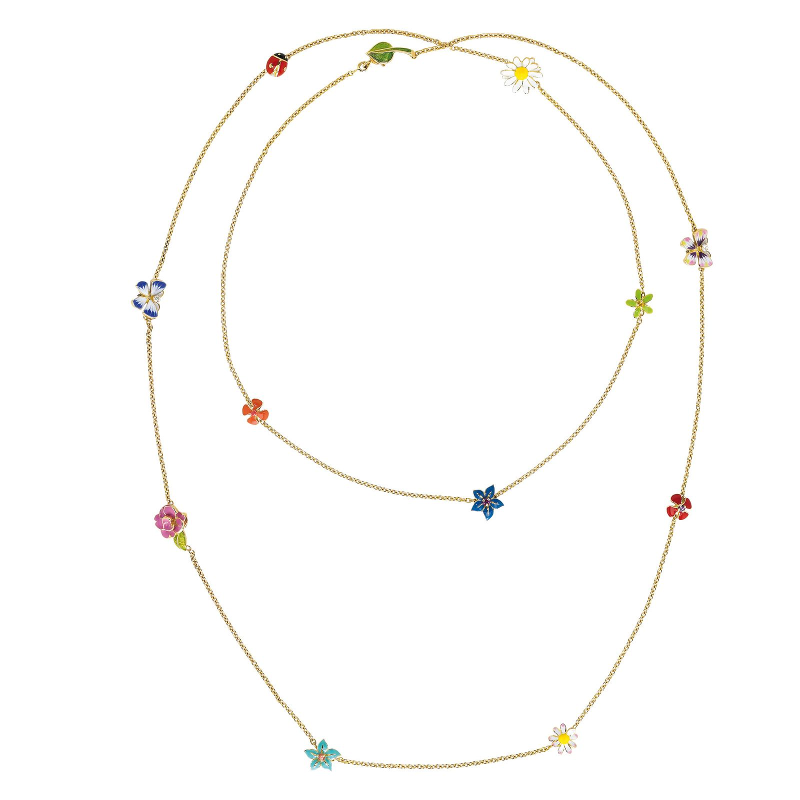 Gojee - Diorette Floral Necklace by Dior