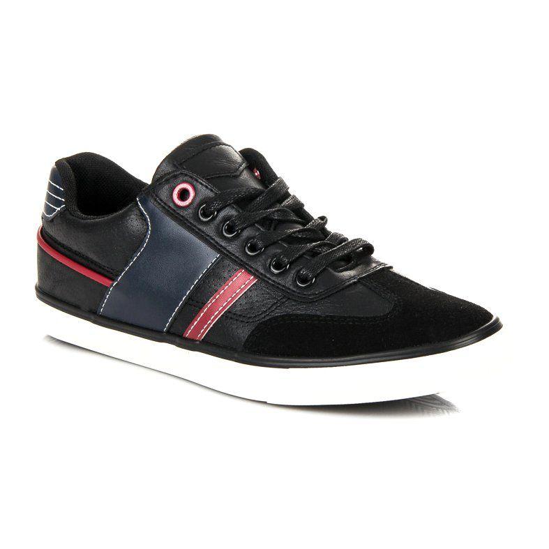 Sportowe Meskie L H Czarne Buty Meskie L H Shoes High Top Sneakers Top Sneakers