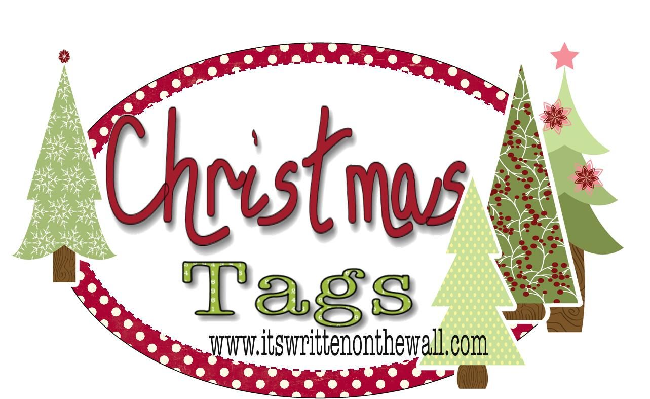 {Freebie} See over 204 Different Christmas Gift Tags for your Presents  It's Written on the Wall: