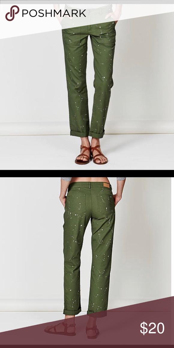 83a2b5abf8 Adam Levine Women's Splatter Paint Pant Relax fix/ Straight Leg ...