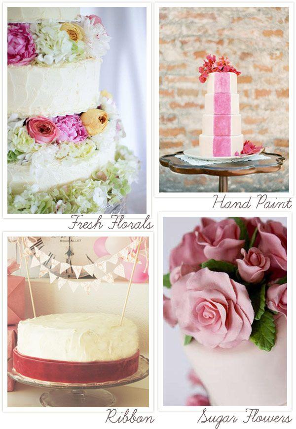 Diy Wedding Cake Tips Ideas For Decorating A Diy Wedding Cake Diy