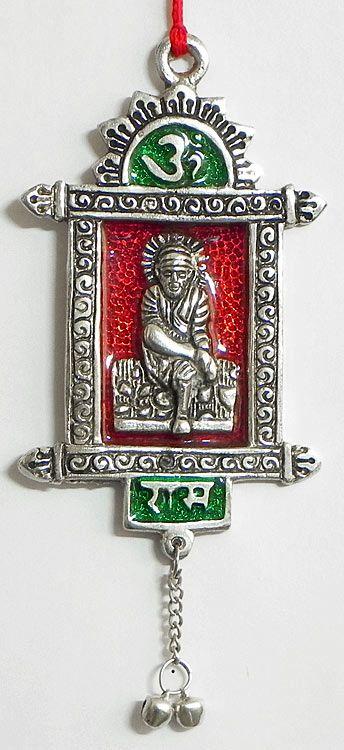 Shirdi Sai Baba On Metal Frame Wall Hanging Frames On