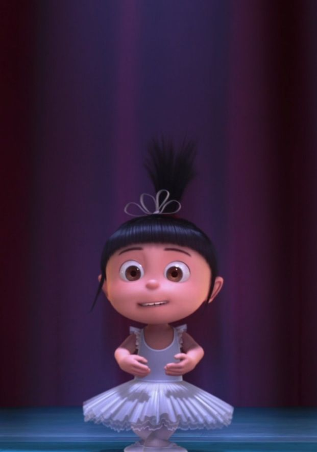 little agnes from despicable me the most adorable character ever