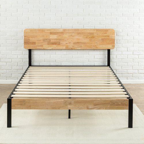 Found It At Wayfair Tuscan Metal Wood Platform Bed Wood