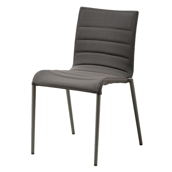 Core dining chair woarm, SoftTouch grey | Side chairs