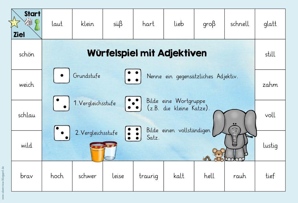 Wortarten Spiele