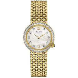 Bulova Women's 98R218 Gold Stainless-Steel Quartz Watch