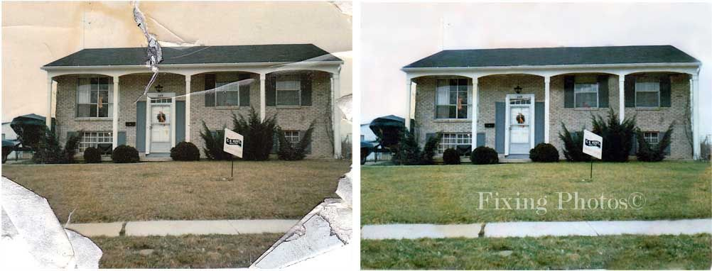 repair your old or damaged photos!