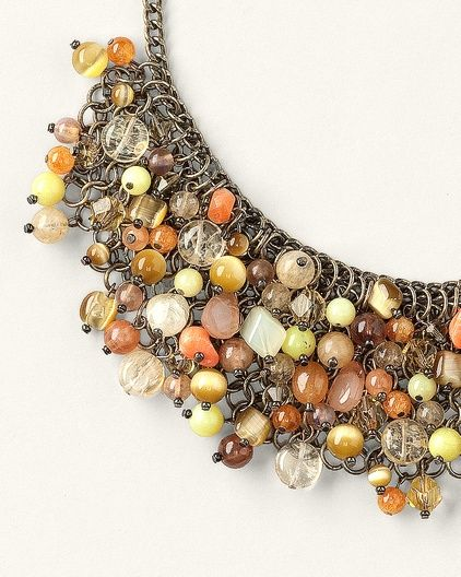Bead Collage Necklace