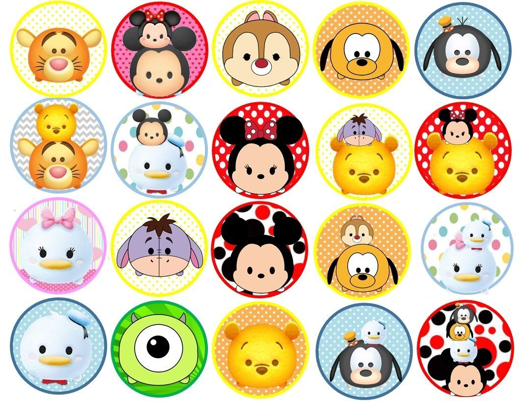 Pin By Crafty Annabelle On Tsum Tsum Printables