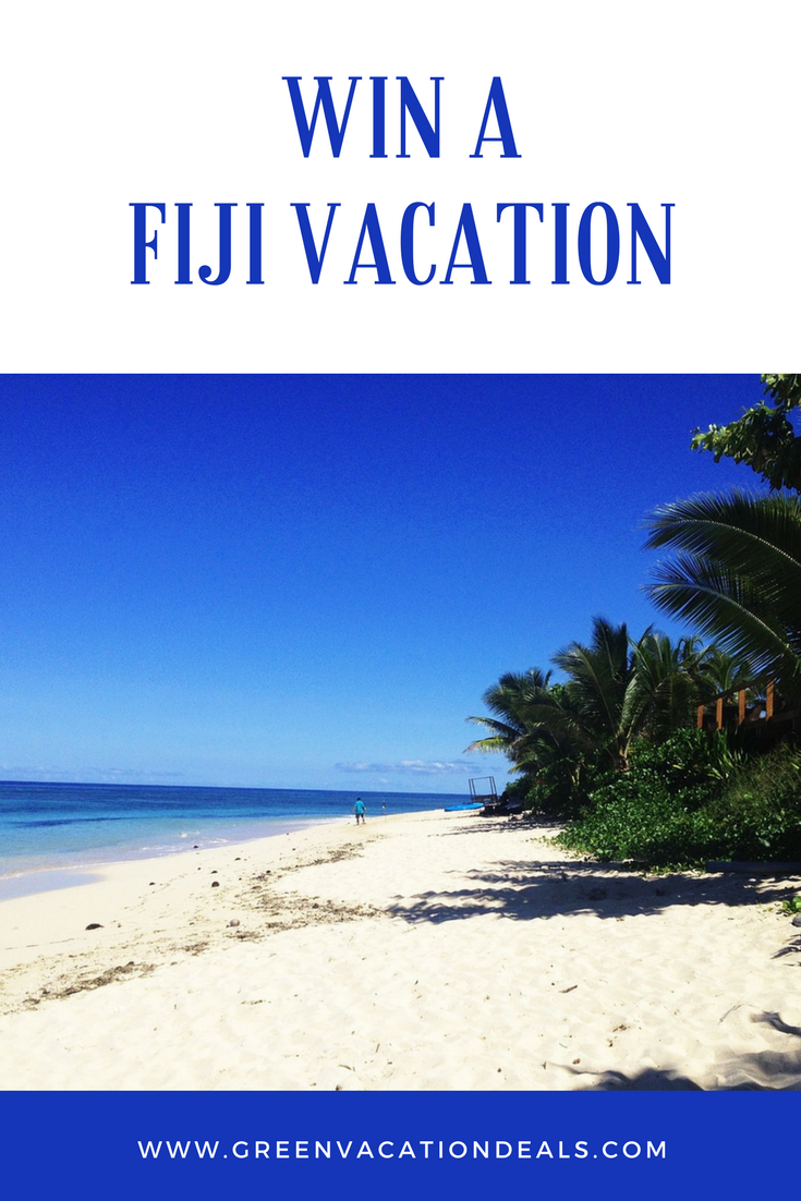 Win A Fiji Vacation   Vacation Sweepstakes + Travel Giveaways