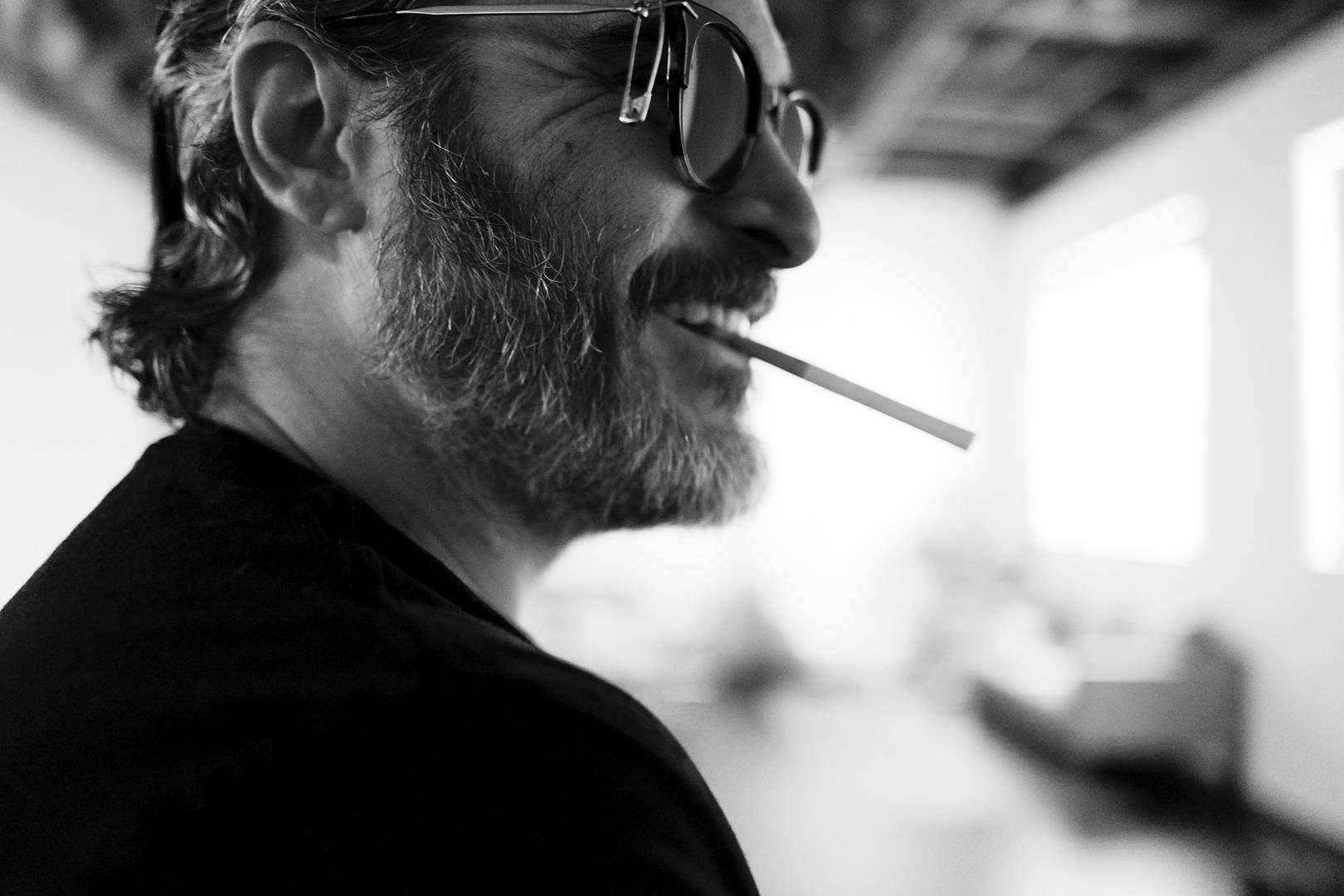 The shots you've never seen of Joaquin Phoenix, Tom Hardy