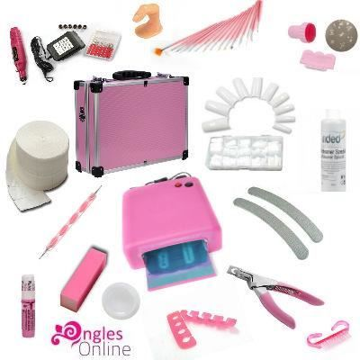 kit ongles gel debutant