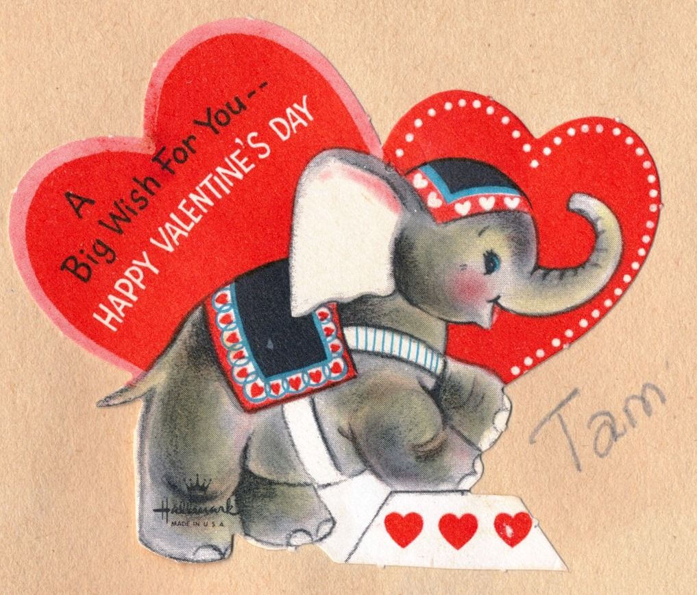 A Big Wish For You Happy Valentine S Day Vintage Valentine