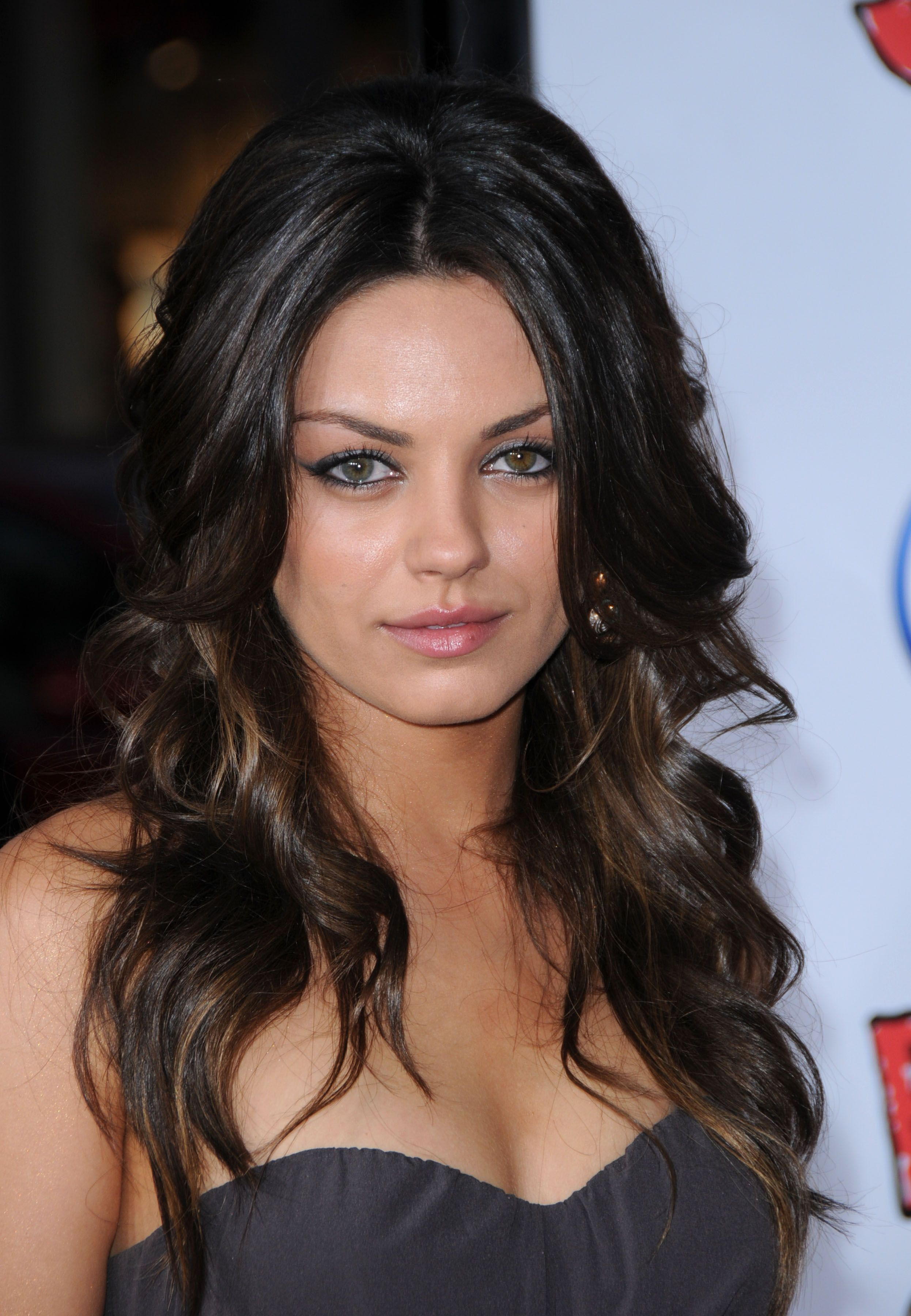 Mila Kunis at premiere for Forgetting Sarah Marshall in LA ...