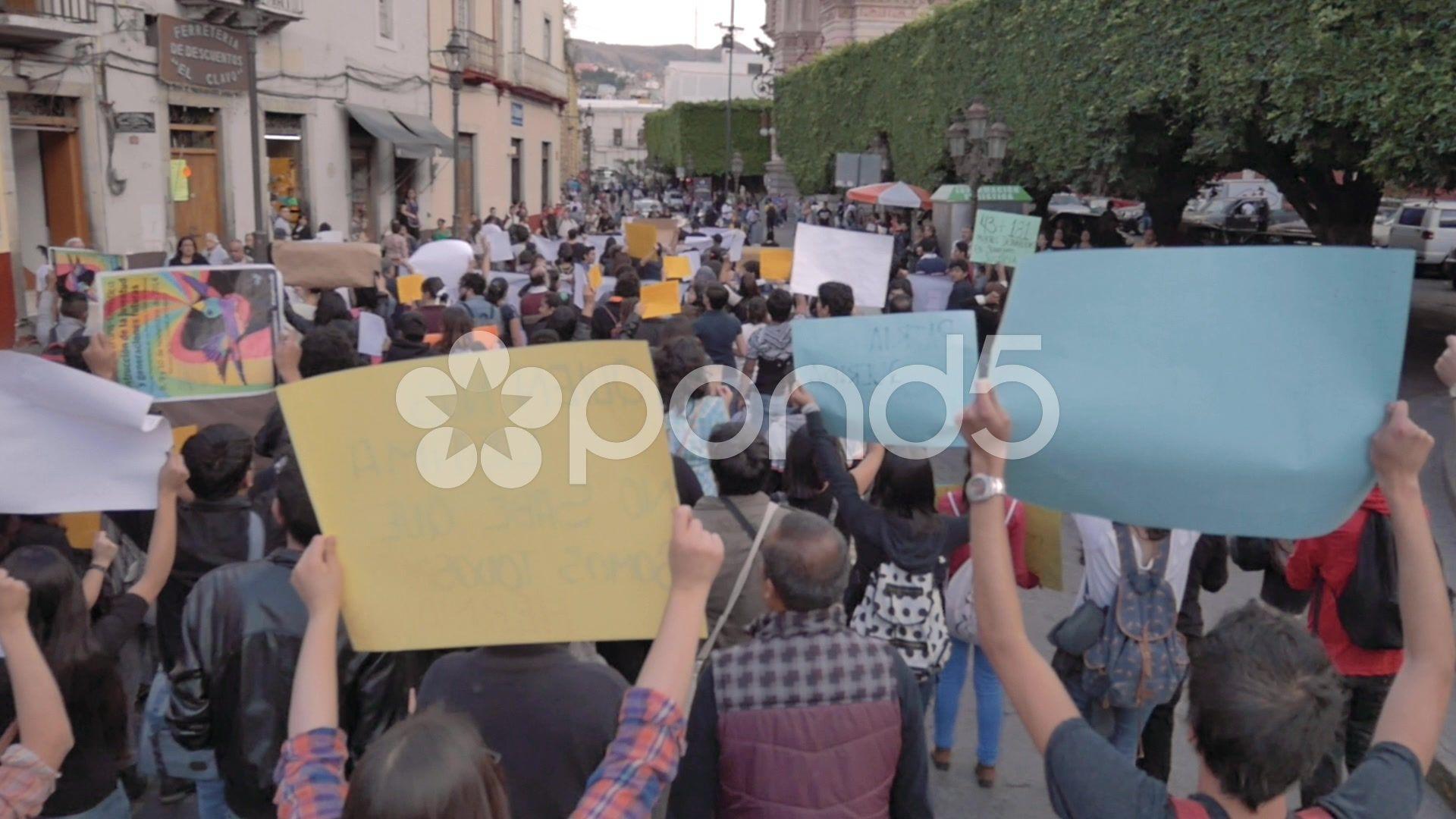 Latin American People Protesting Stock Footage People American Latin Footage Latin American American Latin