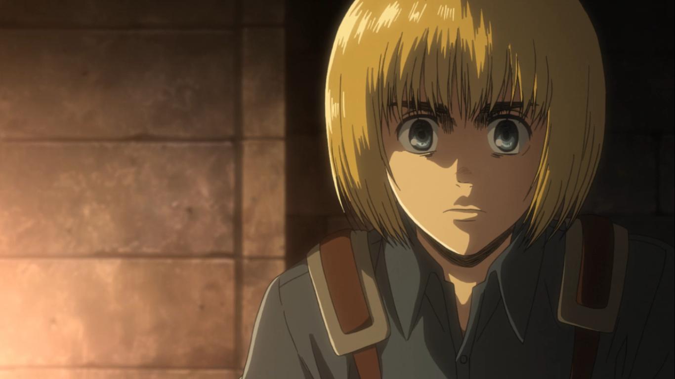 Armin Arlert Attack on Titan season 3 ep. 6 Attack on