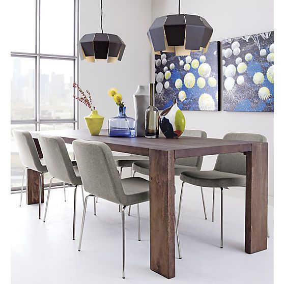 Blox 35x91 Dining Table Wood Dining Table Mango Wood Dining