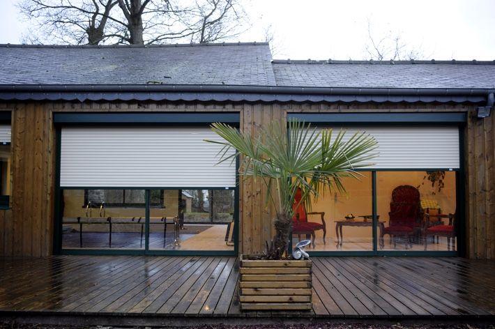 volet roulant renovation sur maison bois pour en savoir. Black Bedroom Furniture Sets. Home Design Ideas