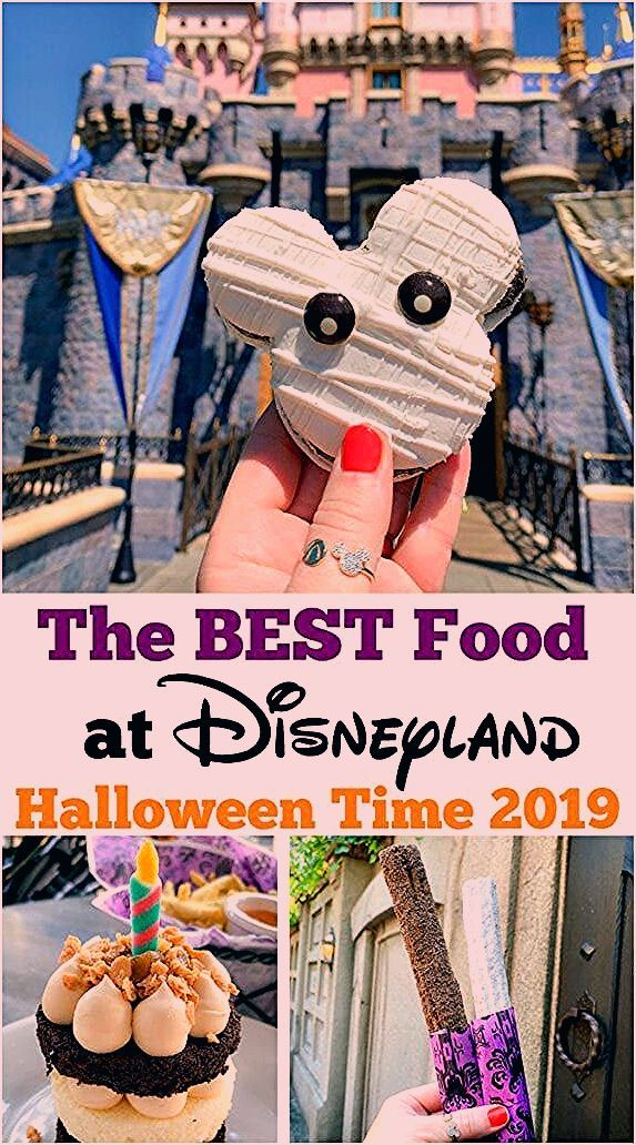 Photo of Best Food At Disneyland Halloween Time 2019